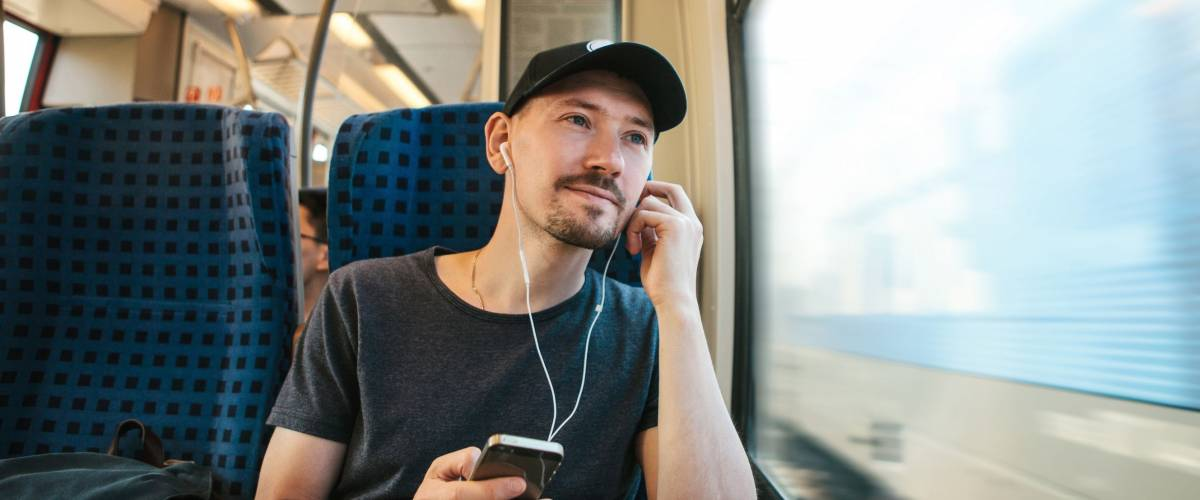 Use your commute to listen and learn something new